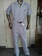 mens vintage coveralls new old stock searsucker