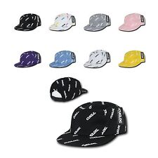 New Cuglog Logo Printed 5 Panel Racer Racing Jockey Biker Cap Caps Hat Hats