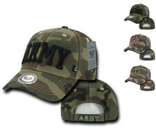 US Military Marines Army Woodland Camo Camouflage Embroidery Baseball Caps Hats