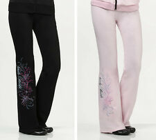 Lillian Rose Pink or Black Bride Lounge Pants Bridal Shower Gift S M L XL