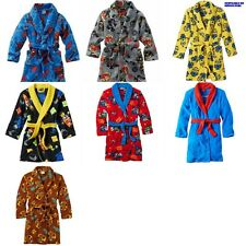 * NEW BOYS Mario Spiderman ANGRY BIRDS WINTER ROBE 4 6 8 10 10/12