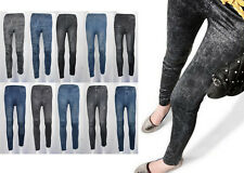 New Women Sexy Demin Jeans Look Like leggings Jeggings Skiny Tights Pants