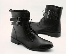 New Winter England-style fashionable Cusp Head Men Martin boots Black
