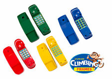 Kid's Telephone - climbing frame - Playhouse - red yellow blue green Play Phone