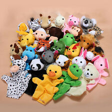 28 Styles Baby Child Zoo Farm Animal Glove Hand Sock Finger Puppets Plush Toy
