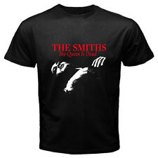 THE SMITHS *The Queen Is Dead 80's Rock Music Men's Black T-Shirt Size S to 3XL