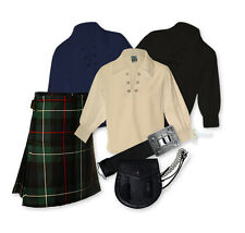 KIDS' KILT PACKAGE - GREAT VALUE 6PC OUTFIT - MACKENZIE - SIZE OPTIONS!