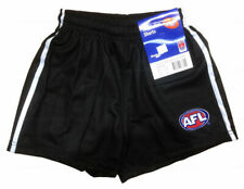 Official AFL Footy Collingwood Magpies Team Playing Shorts - Kid Boys Youth Mens
