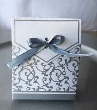 Gold / Silver Wedding, Engagement, Anniversary, Party Cake Favour Gift Boxes 99p