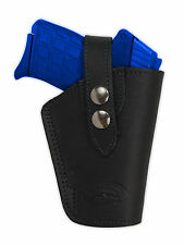 NEW Barsony OWB Black Leather Holster Smith & Wesson Small 380 Ultra-Comp 9mm 40