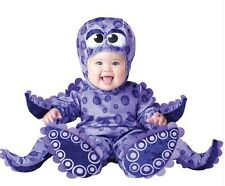NWT Infant Baby TINY TENTACLES OCTOPUS Costume Dress Up Size 6 12-18 Mo purple