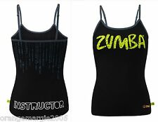 ZUMBA FITNESS Dance - INSTRUCTOR Top Shirt Tank Tee RARE ~fr Convention S M L XL