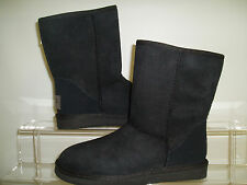 NEW AUSSIE DOG GIRL CLASSIC SHORT WOMEN'S WINTER  BOOTS SIZES 7, 9  BLACK