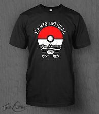 Pokemon T-Shirt Kanto Gym Leader Tee. MEN'S Many sizes and colours available