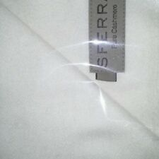 New Sferra Dorsey Cashmere Throw - Ivory