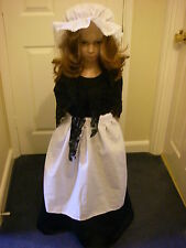 GIRLS VICTORIAN /TUDOR/MEDIEVAL /EDWARDIAN FANCY DRESS COSTUME