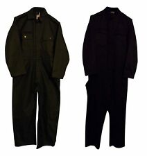 ARMY MILITARY SURPLUS OLIVE GREEN / NAVY BLUE OVERALLS ISSUED S M L XL :38