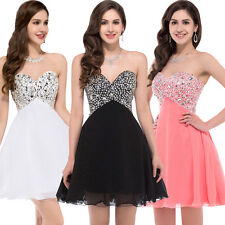 New Short Mini Formal Prom Dresses Homecoming Cocktail Evening Party Dress Gown