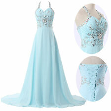 2014 Beaded Evening/Pageant/Party/Cocktail/Prom dress/Ball gown/SZ 2-16 FREE P&P