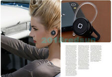 Smallest Bluetooth headphone Headset earphone For Samsung Galaxy S3 S4 Note 2 3