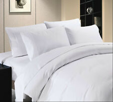 """HOTEL BRAND"" 1200TC 100%EGYPTIAN COTTON WHITE SOLID & STRIPE BEDDING COLLECTION"