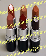 MAC CREMESHEEN Lipstick Choose From 26 Color Full Size New Box Unseal Red Creme