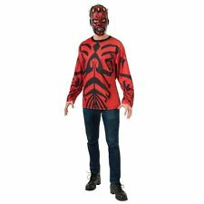 NEW Mens Officially Licensed Star Wars Darth Maul Halloween Costume NWT