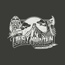 New Tolkien HOBBIT / LORD OF THE RINGS Lonely Mountain Shirt, Desolation Smaug