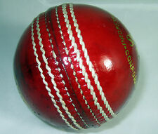 Premium Quality Supreme Test 5 1/2 Oz Cricket Balls Red