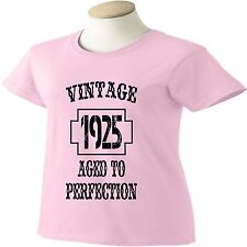 90th Birthday T-Shirt 90 Years Old Vintage 1924 Aged To Perfection Womens