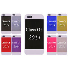 Engraved Graduation Class of 2014 2015 2016 2017 Aluminum Case for iPhone 5/5s