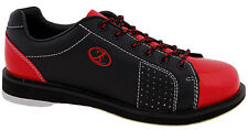 Elite Triton Black/Red Men's Bowling Shoes - New - 2-Year Warranty