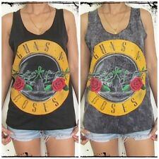 **Unisex Guns N Roses Vest** Tank Top Singlet T-Shirt Dress Sizes S M L XL