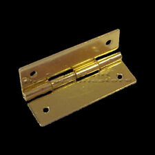 Pack Of 10, Mini Brass Butt Hinges Electro Brass Small Tiny Metal Door Hinge