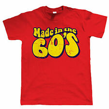 Made In The 60s Mens Funny 50th Birthday T Shirt