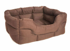 Pets and Leisure Luxury Heavy Duty Rectangular Basketweave Bed