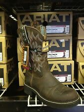 Ariat Womens ProBaby Cowboy Western Boot Driftwood Brown 10001132