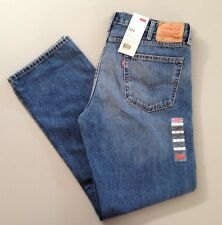 NWT - Men's Levi's 504 Regular Straight Fit Blue Jeans (29990-0015) - Revolved