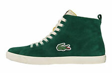 Lacoste Marcel Vintage Green Suede High Trainers - UK  7,8 & 9