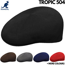 KANGOL Tropic 504 Ivy Cap - Mens Light Flat Driving Summer Hat 0287BC Classic