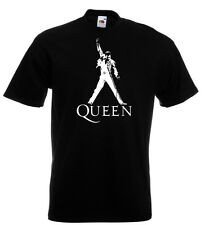 Freddie Mercury Queen Live T Shirt John Deacon Brian May BRAND NEW 10 Colours