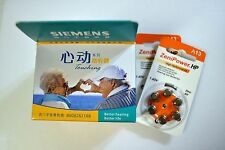 SIEMENS TOUCHING DIGITAL BTE HEARING AID AIDS AND BATTERIES - CHOOSE YOUR COMBO!