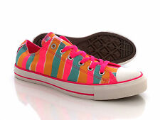 CONVERSE CT Neon Stripe OX Shoes Size 8 8.5 9 9.5 10 NEW (6 6.5 7 7.5 8 UK)