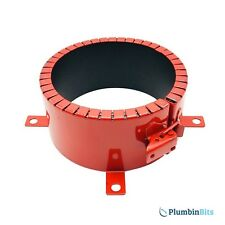 """Astroflame Intumescent 2 Hour Fire Rated Steel Pipe Collar 110mm 4"""" AFPC110/2E"""
