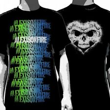OFFICIAL Alexisonfire - Colour Spray Stencil T-shirt NEW Licensed Band Merch ALL