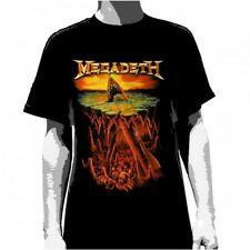 OFFICIAL Megadeth - Shark Nukes T-shirt NEW Licensed Band Merch ALL SIZES