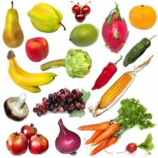 Artificial Fruit & Veg - Realistic Decorative For Display - Choose From List