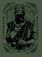 ZAPATISTA t-shirt - Everything For Everyone... MARCOS ZAPATA EZLN CHE FIDEL