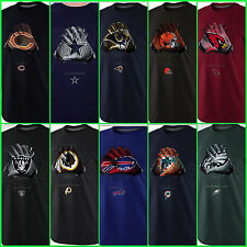 Nike GLOVE LOCK UP Shirt NFL Sideline T-Shirt Players Tee Men Size M, L, XL, XXL