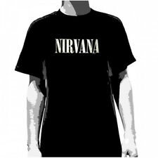 OFFICIAL Nirvana - Foil Logo T-shirt NEW Licensed Band Merch ALL SIZES